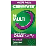 Cenovis Once Daily Multivitamin 50+ 125 Capsules