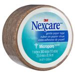 Nexcare Micropore Gentle Paper Tape Tan 25.4mm x 9.14m