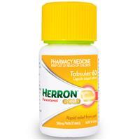 Herron Paracetamol Bottle Tabsules 60