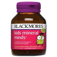 Blackmores Kids Mineral Minds 60 Tablets