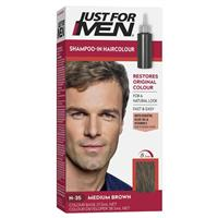 Just for Men Hair Colour Natural Medium Brown