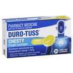 Duro-Tuss Chesty Cough Lozenges Lemon 24