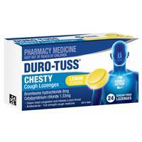 Duro-Tuss Chesty Cough Lozenges Lemon 24