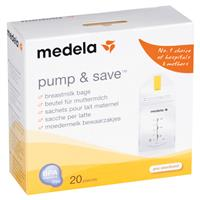 Medela Pump & Save Breastmilk Bags 20 Pack