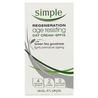 Simple Regeneration Age Resisting Day Cream SPF15 50mL