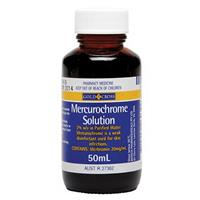Gold Cross Mercurochrome 2% 50ml