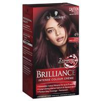 Schwarzkopf Live Brilliance 49 Dark Red
