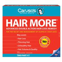 Carusos Natural Health Hair More Kit - For Hair Loss