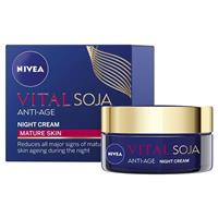Nivea Visage Multi-Active Anti-Age Night Cream With Soy 50mL