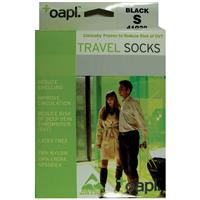 Oapl 41032 Travel Stockings Black Small