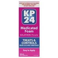 KP 24 Medicated Head Lice Foam 100mL
