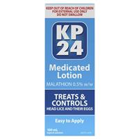 KP 24 Medicated Head Lice Lotion 100mL