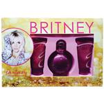 Britney Spears Fantasy 100ml 3 Piece Gift Set Shower Gel/ Body Souffle