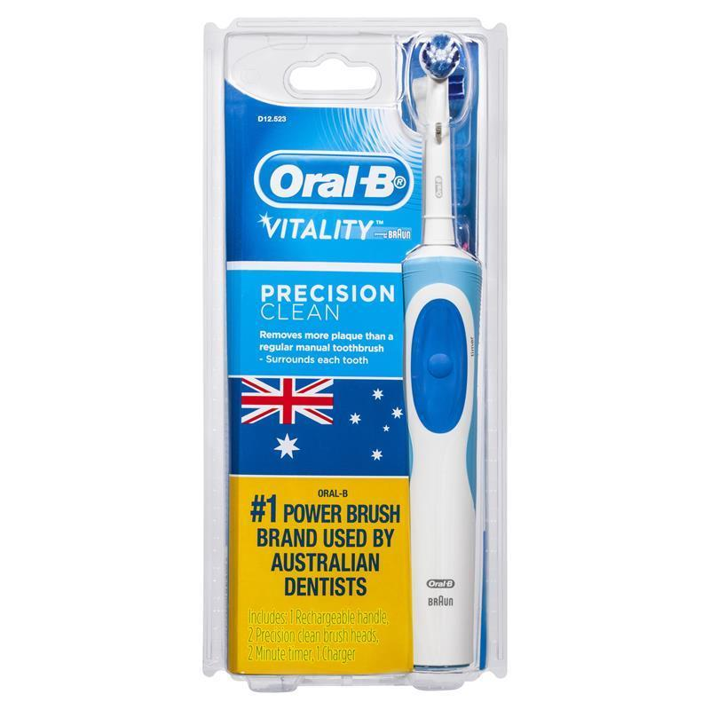 buy oral b vitality precision clean electric toothbrush 2. Black Bedroom Furniture Sets. Home Design Ideas