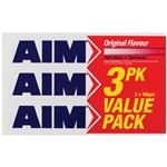 Aim Toothpaste Original 3 Pack