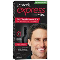 Restoria Express for Men Natural Brown
