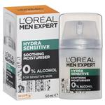 L'Oreal Men Expert Hydra Sensitive Moisturiser Cream 50mL