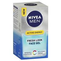 Nivea for Men Active Energy Face Gel 50ml