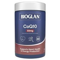 Bioglan CoQ10 50mg 200 Capsules