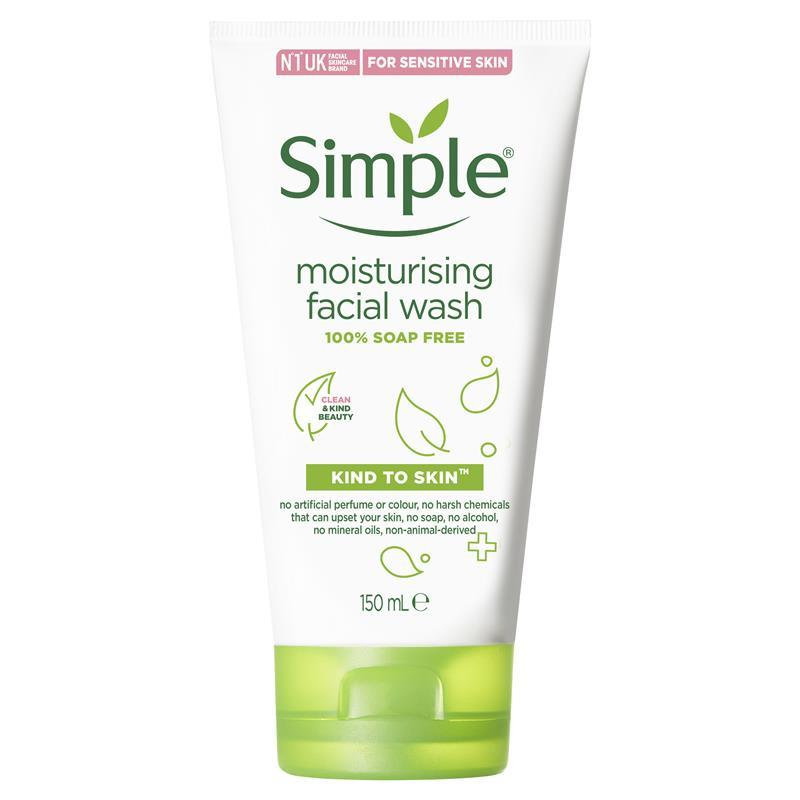 simple face wash buy simple moisturising wash 150ml at 29721