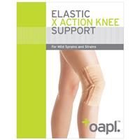 Oapl 15002 Knee X-Action Support Large