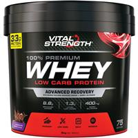 VitalStrength Launch Whey Protein 3kg Chocolate