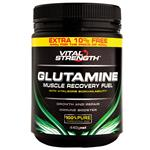 VitalStrength Glutamine Recovery Fuel 400g + 10 % FREE