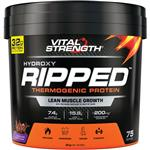 VitalStrength Hydroxy Ripped Workout Protein Powder 3Kg Chocolate