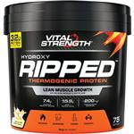 VitalStrength Hydroxy Ripped Workout Protein Powder 3Kg Vanilla