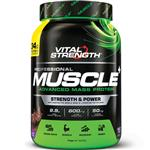 VitalStrength Pro-Muscle Plus Weight Gainer 1Kg Chocolate