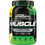 VitalStrength Pro-Muscle Plus Weight Gainer 1Kg Vanilla