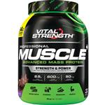 VitalStrength Pro-Muscle Plus Weight Gainer 2Kg Chocolate