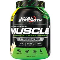 VitalStrength Pro-Muscle Plus Weight Gainer 2Kg Vanilla
