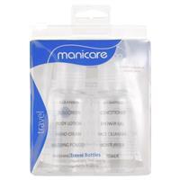 Manicare Travel Bottles 2 Pack