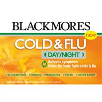 Blackmores Cold & Flu Day/Night 18+6 Capsules