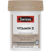 Swisse Ultiboost Vitamin D 60 Capsules
