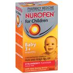Nurofen for Children Baby 3 Months+ 30ml