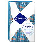 Libra Liners 3-in-1 Scented Vitamin E 28