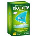 Nicorette Icy Mint Gum 4mg 105