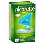 Nicorette Icy Mint Gum 2mg 105