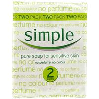 Simple Soap 125g Twin Pack