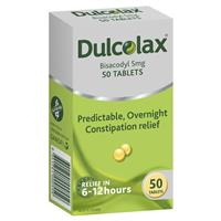 Dulcolax 5mg Tablets 50