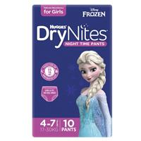 Huggies DryNites Girl 4+ Years 10 Pack
