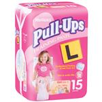 Huggies 15 Pull Ups 3 Girl 2615