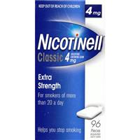 Nicotinell Classic 4mg Gum 96