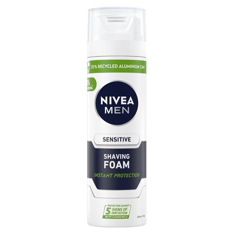 FREE Nivea Mens Shave Foam at.