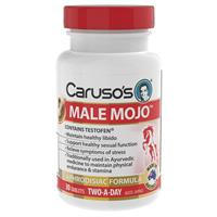 Carusos Natural Health Male Mojo 30 Tablets