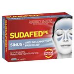 Sudafed Pe Double Action Sinus/Anti-Inflam 48 Tablets