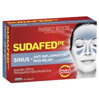 Sudafed PE Sinus Anti-Inflammatory 48 Tablets