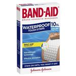 Band-Aid Tough Strips Waterproof Extra Large 10